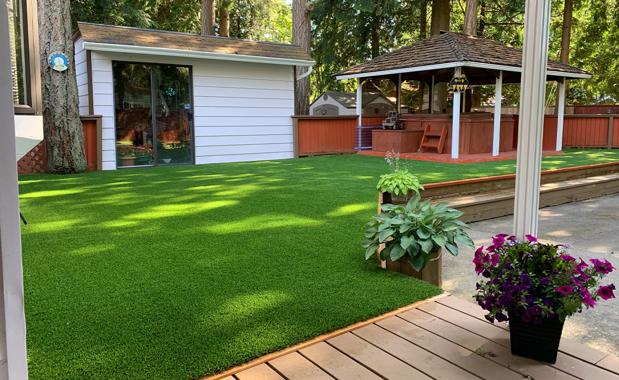 ace turf artificial grass installer quality work