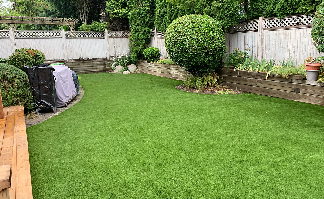 ace turf artificial grass installation
