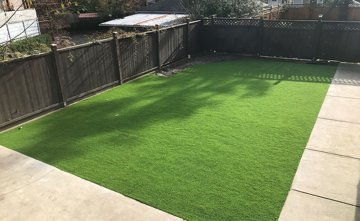 Artificial Grass is Flexible For Many New Westminster Spaces