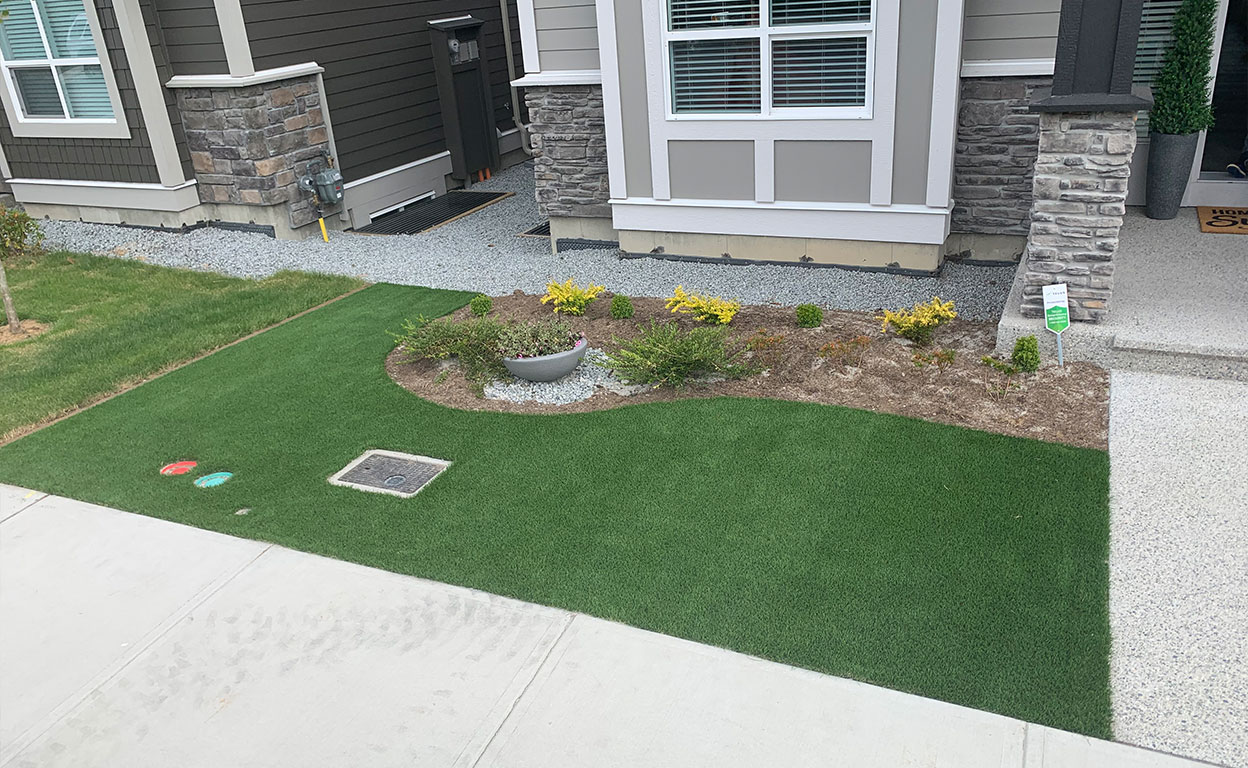 Artificial Grass is Flexible For Many White Rock BC Spaces
